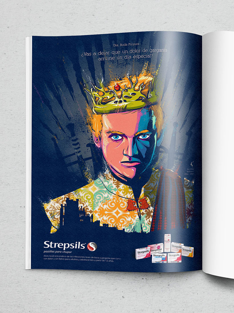 Publicidad STREPSILS & JDT 0
