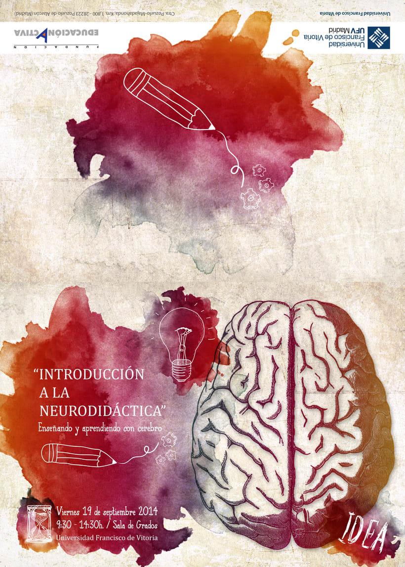 """Diptico para el taller """"Introducción a la Neurodidáctica"""" 0"""
