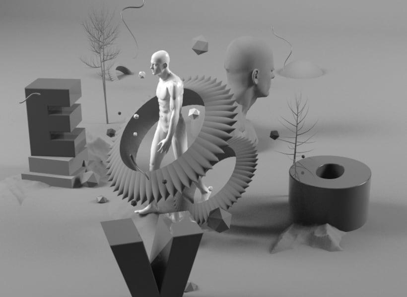 Mi Proyecto del curso Dirección de Arte con Cinema 4D 2