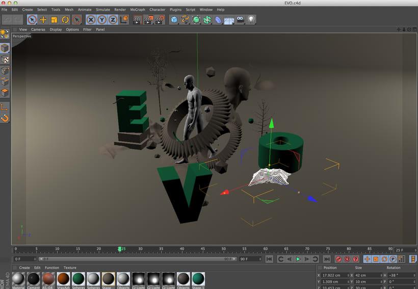 Mi Proyecto del curso Dirección de Arte con Cinema 4D 1