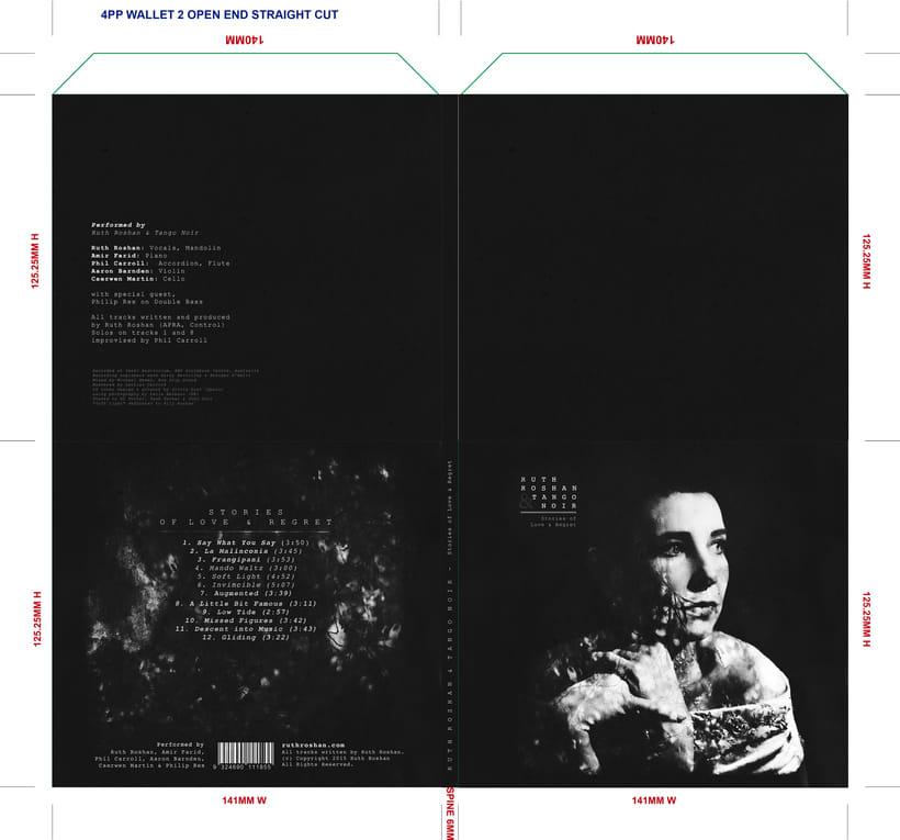 PORTADA - Ruth Roshan & Tango Noir   2