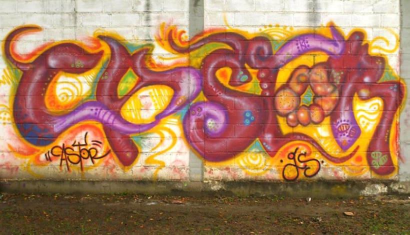 GRAFFITIS DE AYER Y HOY!!  35