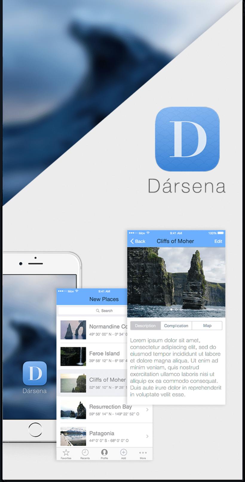 Mi Proyecto del curso Diseña una App deliciosa - Dársena App 0