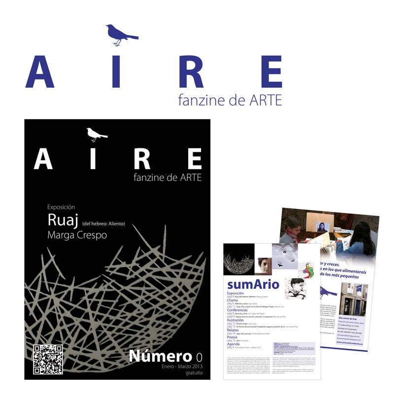 AIRE fanzine de ARTE  0