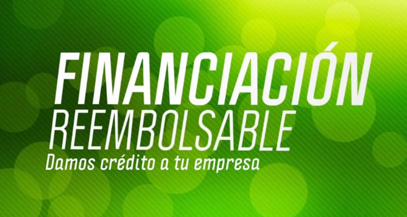Financiación reembolsable -1
