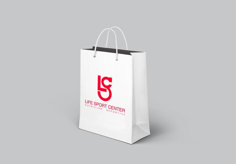 Imagen corporativa · Life Sport Center (trabajo para clase) 2