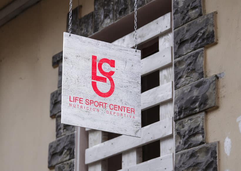 Imagen corporativa · Life Sport Center (trabajo para clase) 0