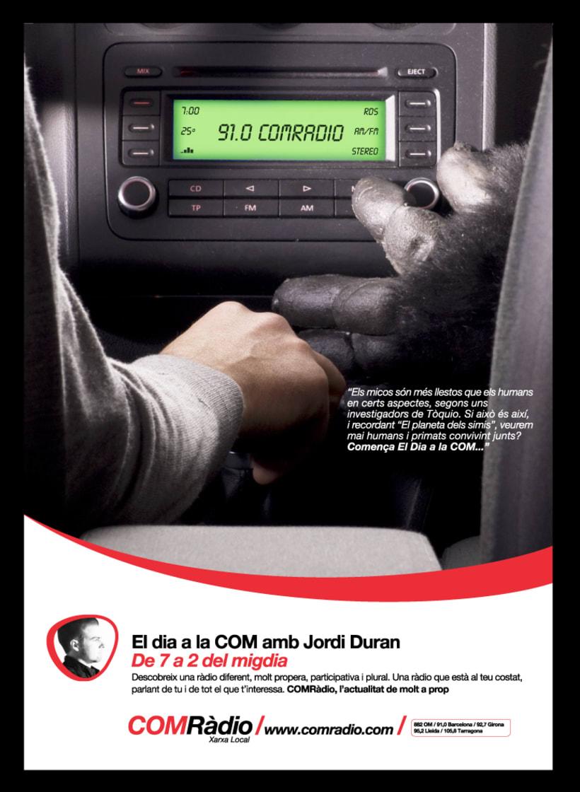 Campaña ComRadio. Spot, prensas..... 0