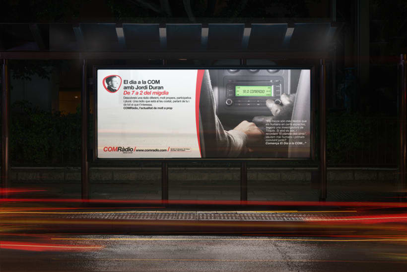 Campaña ComRadio. Spot, prensas..... 2