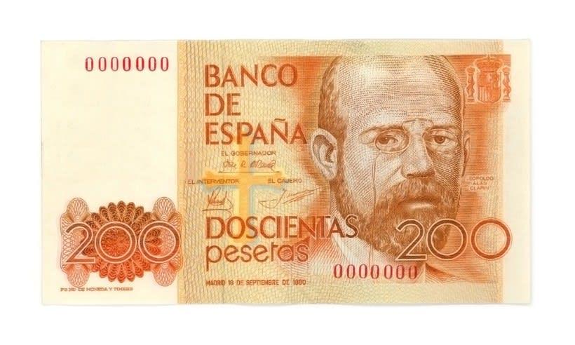 Billetes del Banco de España 1