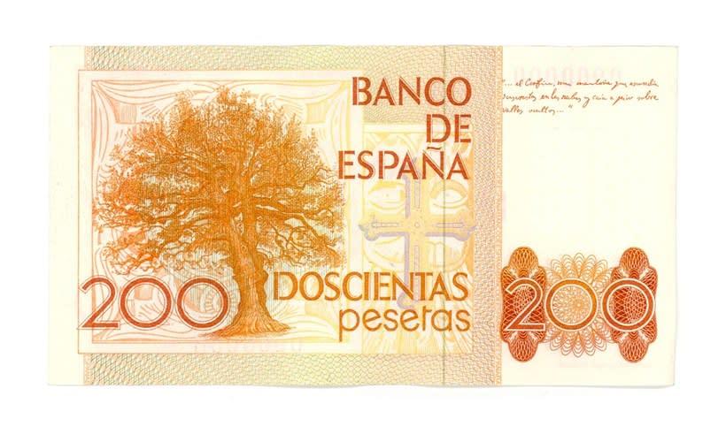 Billetes del Banco de España 2