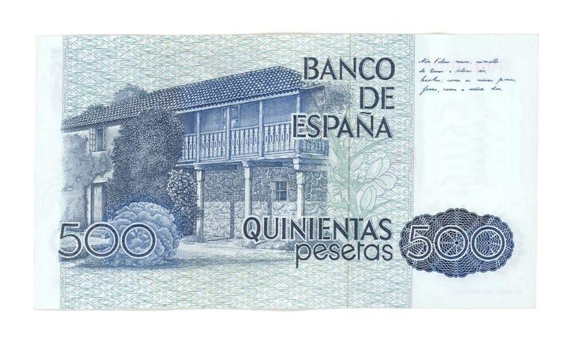 Billetes del Banco de España 4