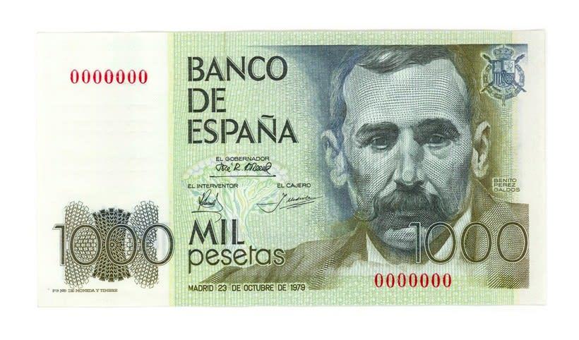 Billetes del Banco de España 5