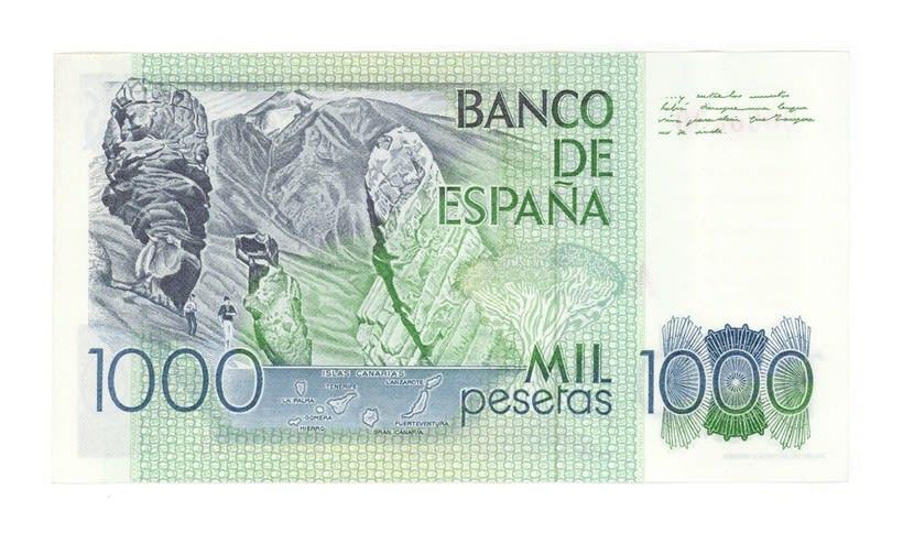 Billetes del Banco de España 6