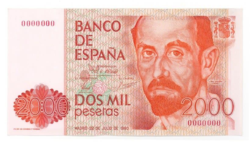 Billetes del Banco de España 7