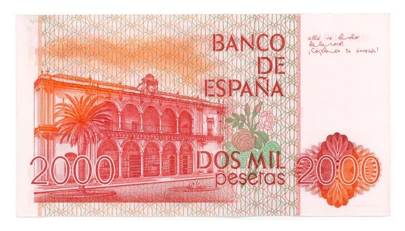 Billetes del Banco de España 8