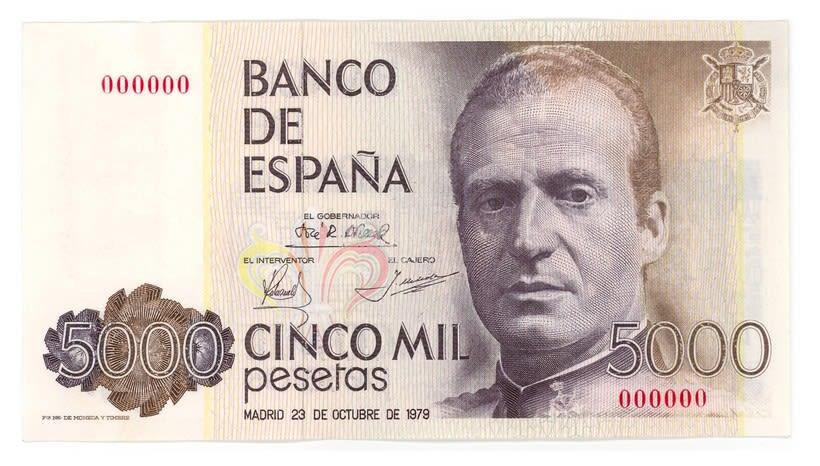 Billetes del Banco de España 9