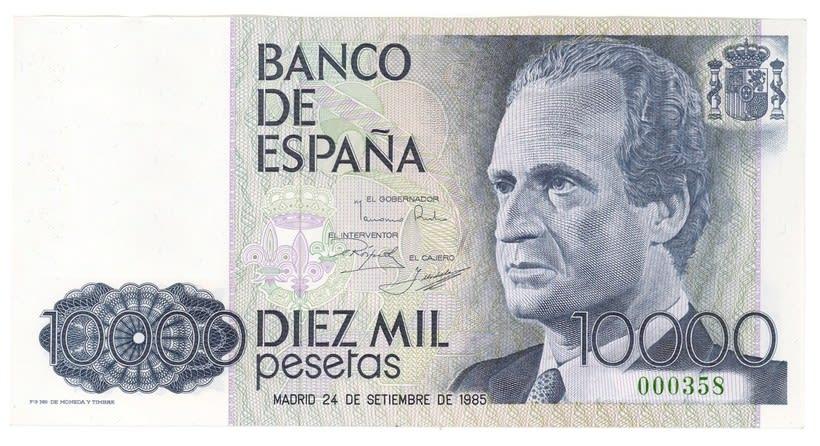 Billetes del Banco de España 11