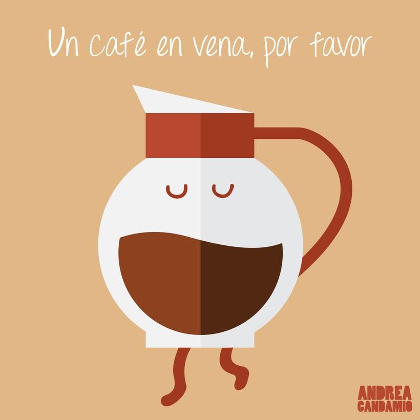 Ilustraciones café 0