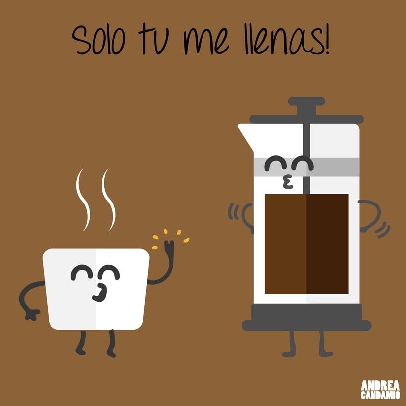 Ilustraciones café 3
