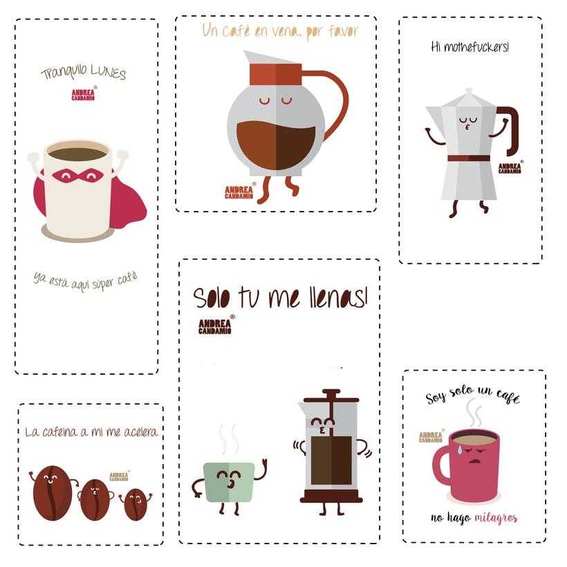 Ilustraciones café 5