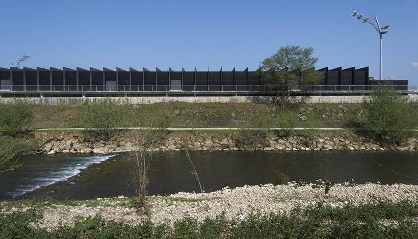 Estadio Gimnástica de Torrelavega. Campos del Malecón.  1