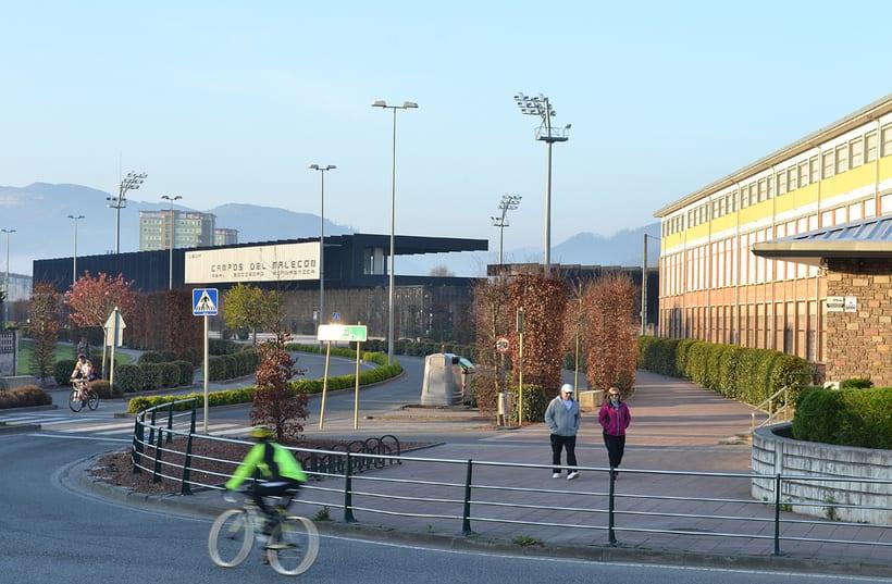Estadio Gimnástica de Torrelavega. Campos del Malecón.  2