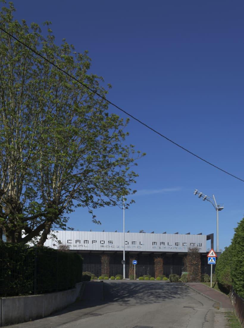 Estadio Gimnástica de Torrelavega. Campos del Malecón.  3