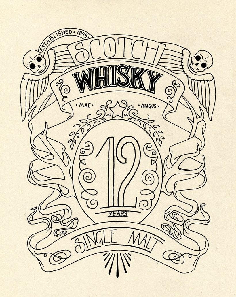 Scotch Whisky label 0