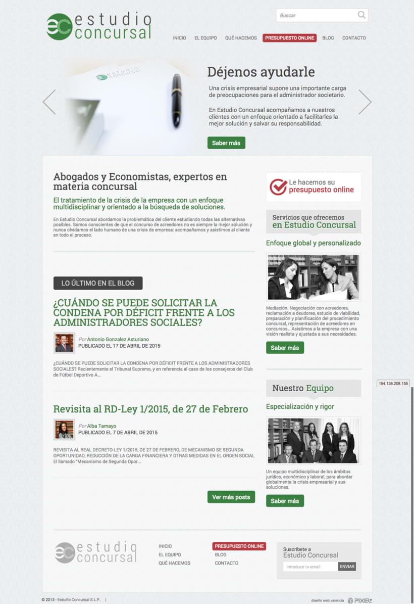Web corporativa estudioconcursal.com -1