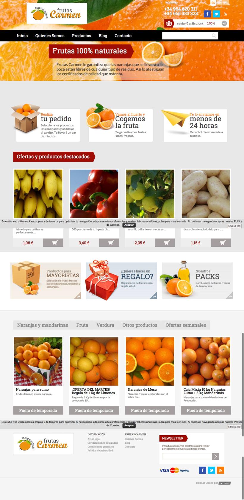 Tienda online frutascarmen.com -1