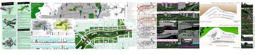 Trabajos universitarios Plan Urbano Tucuman Argentina -1