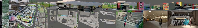 Trabajos universitarios: Centro cultural. Remodelacion y refuncionalización de la ex terminal de bus -1