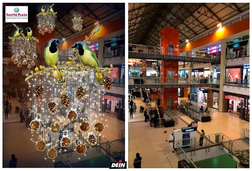 Retoque fotográfico y creación de prototipos para proyectos de decoración navideña en centros comerciales 10