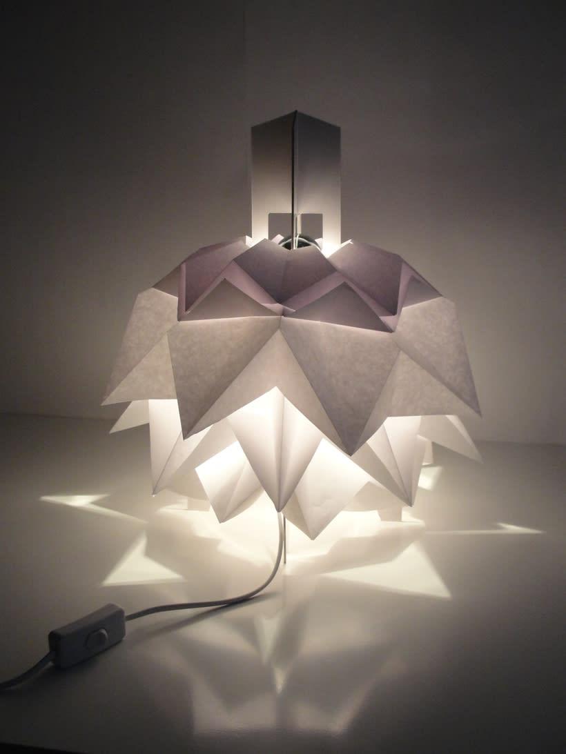 Lámpara Saguntum del estudio Peicop 3