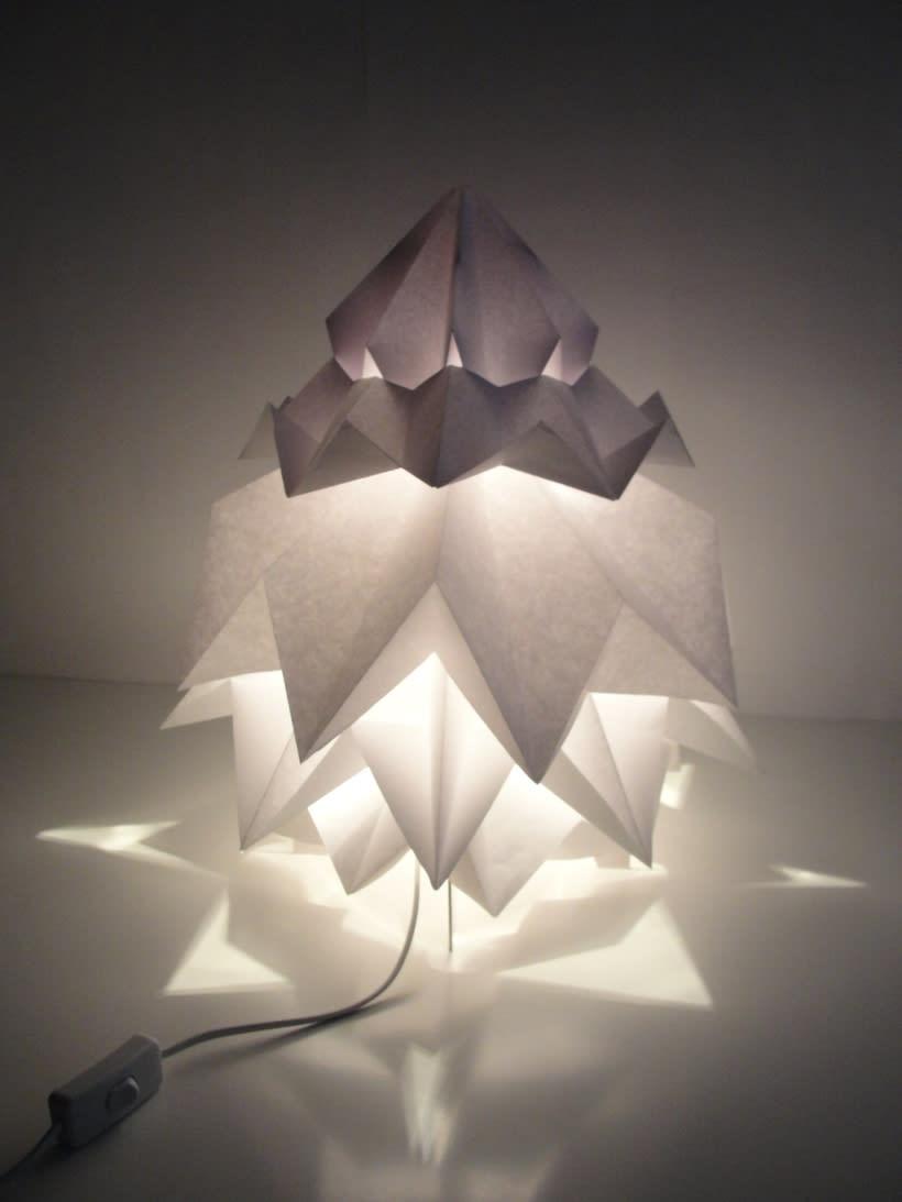 Lámpara Saguntum del estudio Peicop 1