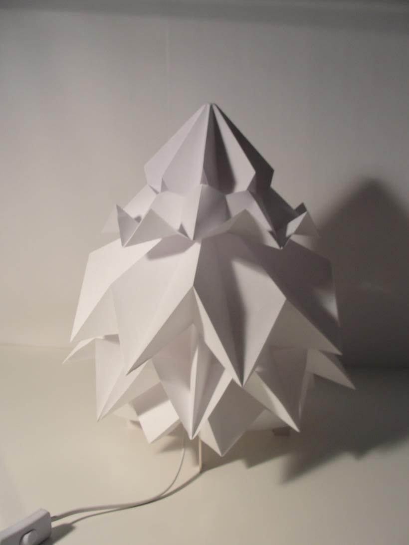 Lámpara Saguntum del estudio Peicop 0