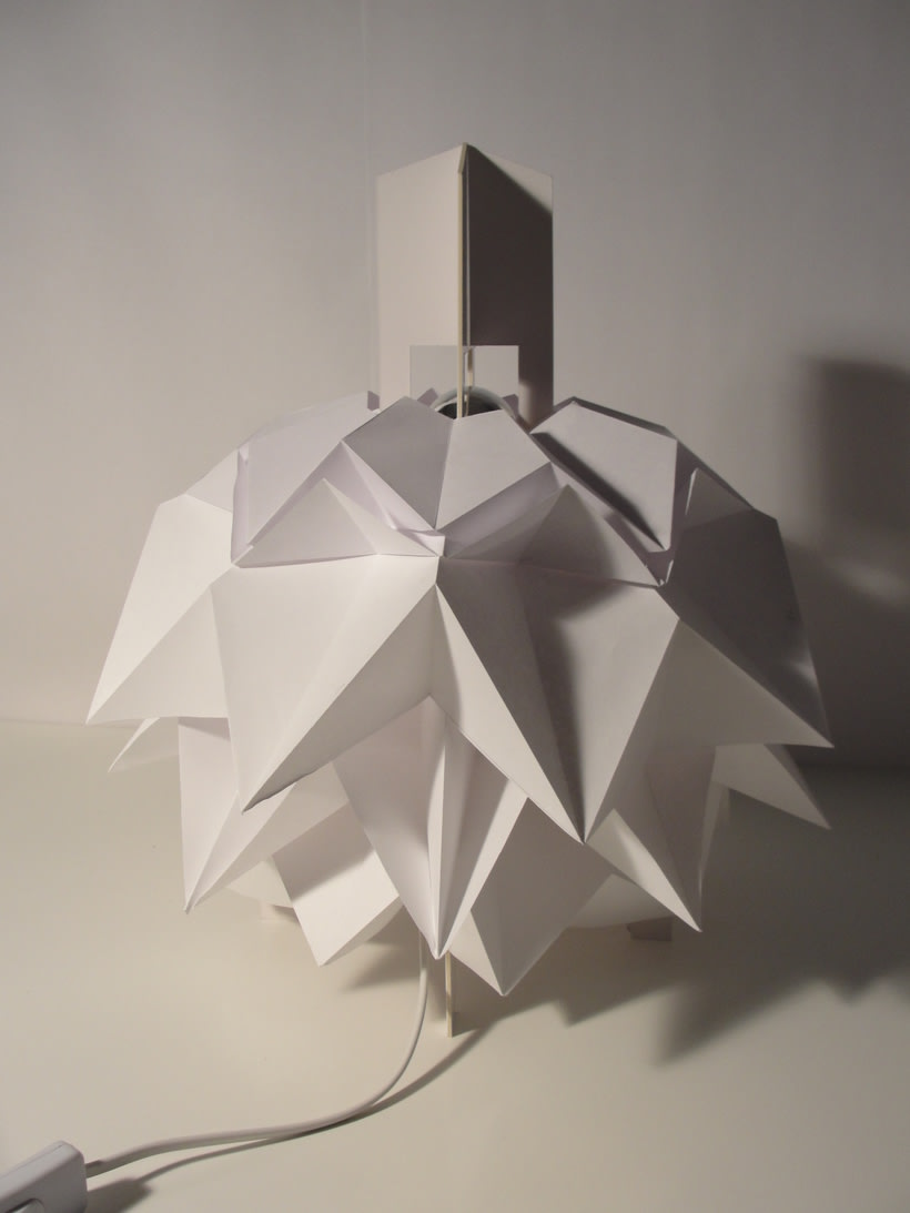Lámpara Saguntum del estudio Peicop 2