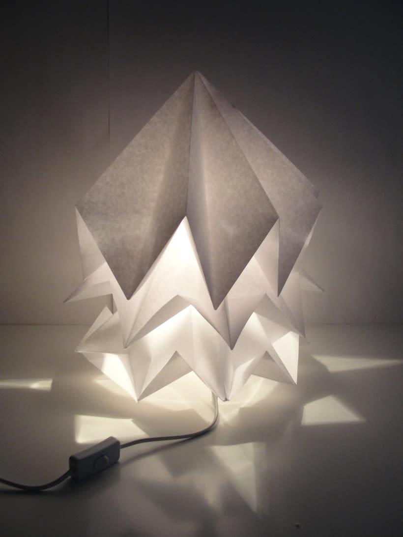 Lámpara Saguntum del estudio Peicop 5