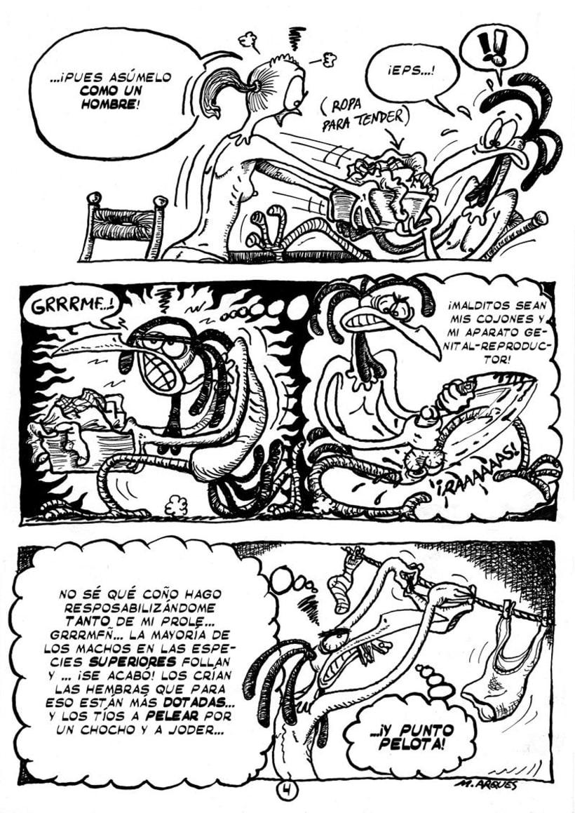 """Cómic """"¡Vida de Pollo!"""" de pág. 1 a la 11 4"""