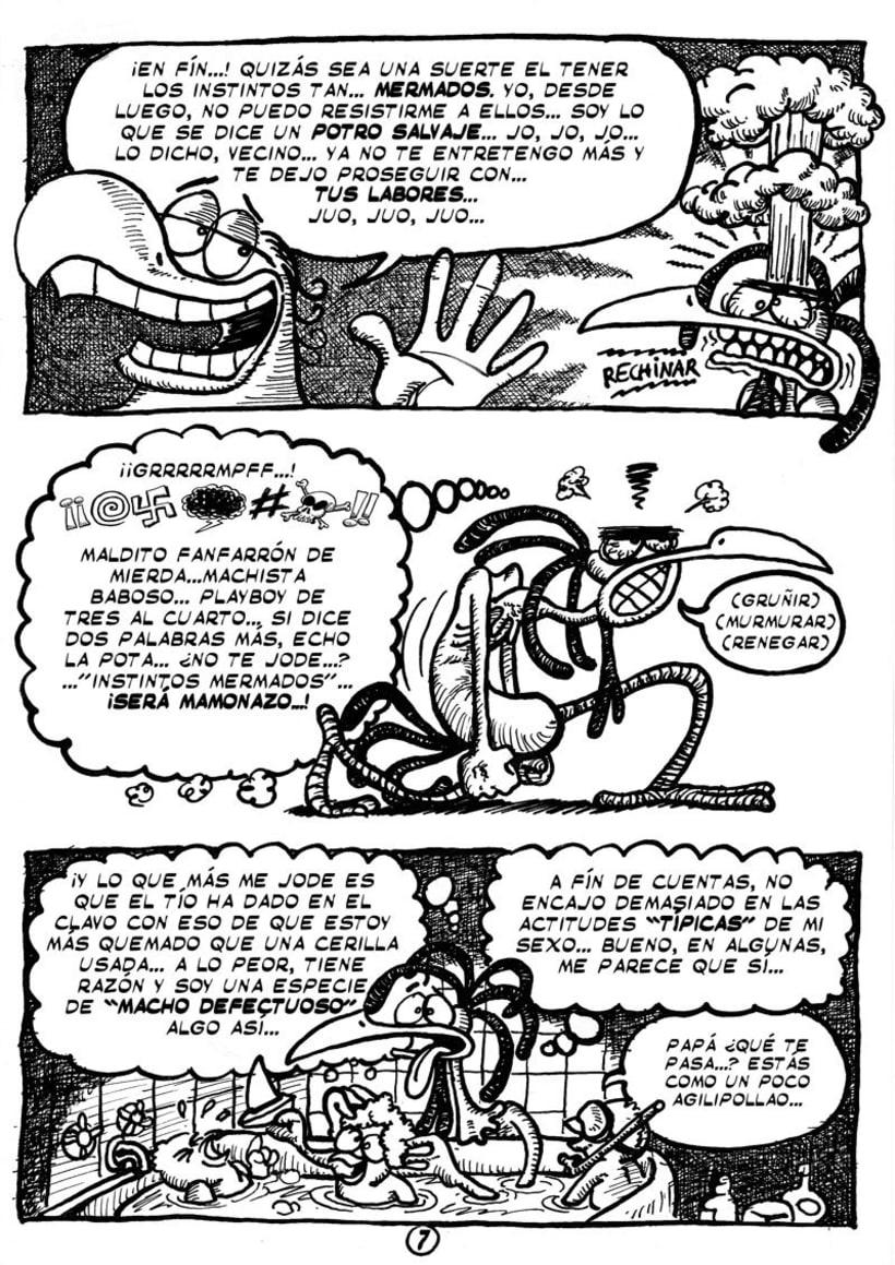 """Cómic """"¡Vida de Pollo!"""" de pág. 1 a la 11 6"""