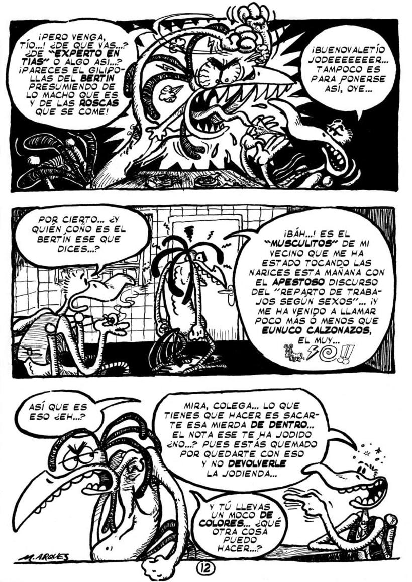 """Cómic """"¡Vida de Pollo!"""" de pág. 12 a 26 -1"""