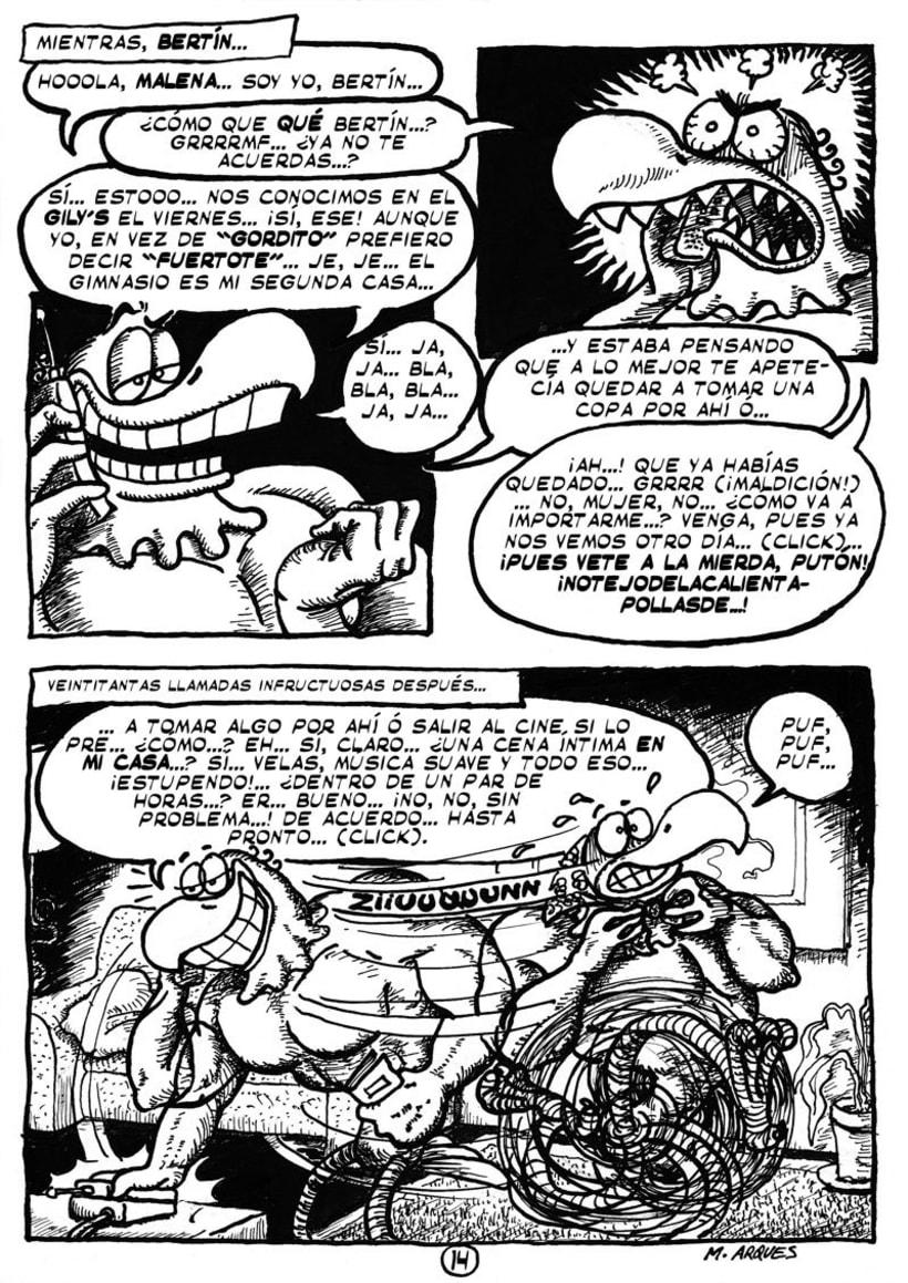 """Cómic """"¡Vida de Pollo!"""" de pág. 12 a 26 1"""