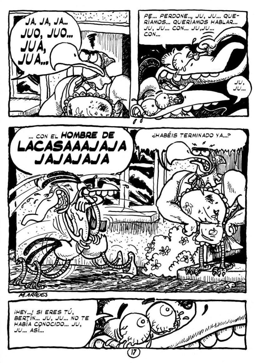 """Cómic """"¡Vida de Pollo!"""" de pág. 12 a 26 4"""