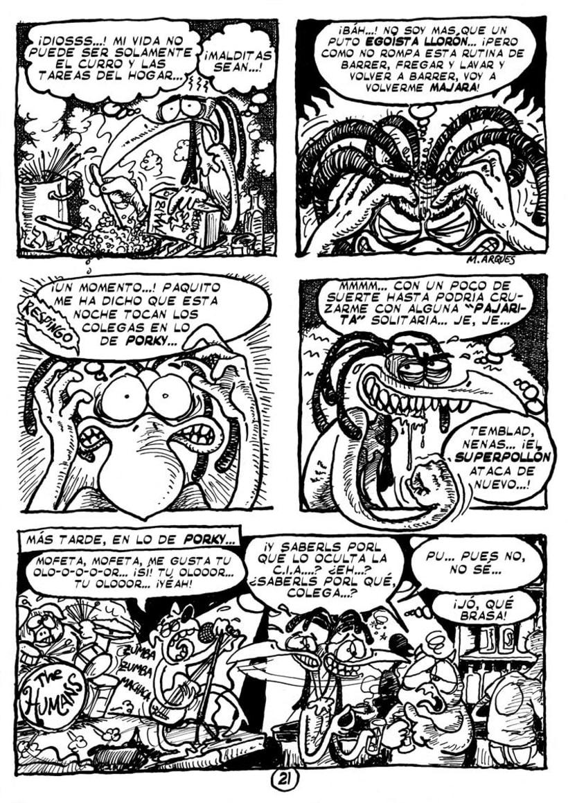 """Cómic """"¡Vida de Pollo!"""" de pág. 12 a 26 8"""