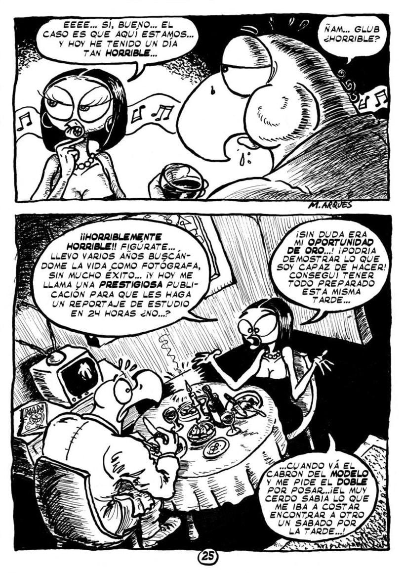 """Cómic """"¡Vida de Pollo!"""" de pág. 12 a 26 12"""