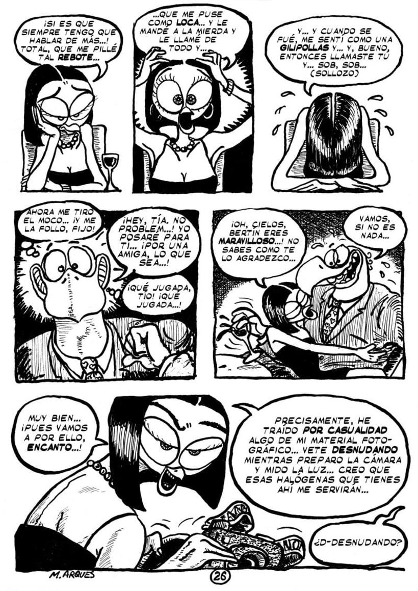 """Cómic """"¡Vida de Pollo!"""" de pág. 12 a 26 13"""