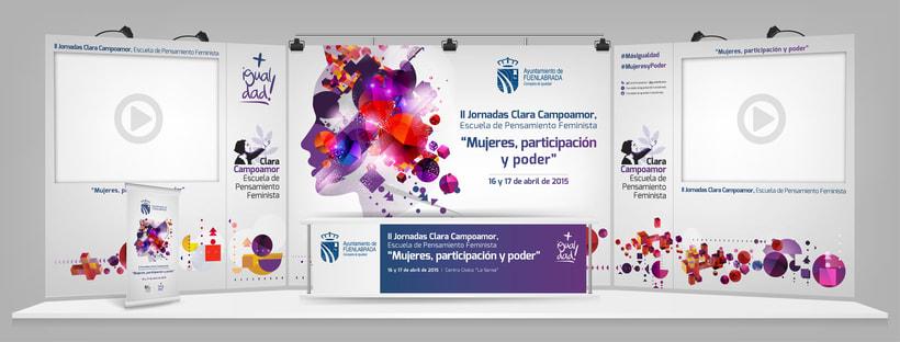 II Jornadas Clara Campoamor. Concejalía de Igualdad del Ayto. de Fuenlabrada 0