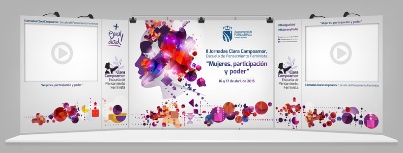II Jornadas Clara Campoamor. Concejalía de Igualdad del Ayto. de Fuenlabrada 1