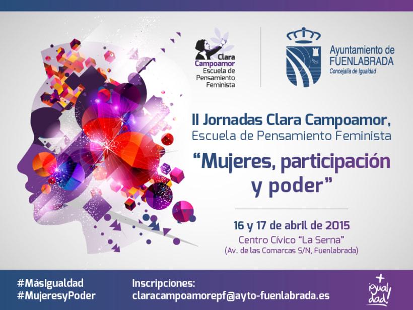 II Jornadas Clara Campoamor. Concejalía de Igualdad del Ayto. de Fuenlabrada 3
